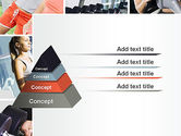 Fitness Collage PowerPoint Template#12
