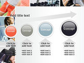 Fitness Collage PowerPoint Template#13