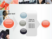 Fitness Collage PowerPoint Template#17