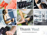 Fitness Collage PowerPoint Template#20