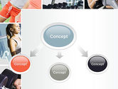 Fitness Collage PowerPoint Template#4
