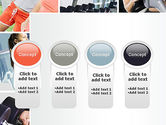 Fitness Collage PowerPoint Template#5