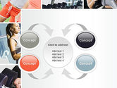 Fitness Collage PowerPoint Template#6