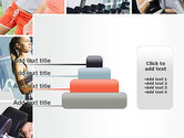 Fitness Collage PowerPoint Template#8