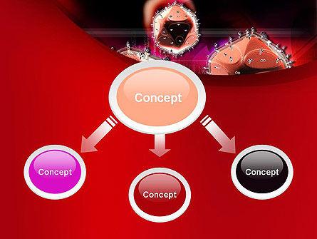 HIV PowerPoint Template, Slide 4, 10705, Medical — PoweredTemplate.com