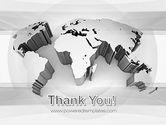 3D World Map PowerPoint Template#20