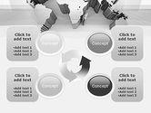 3D World Map PowerPoint Template#9