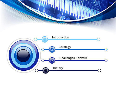 Memory Slots PowerPoint Template, Slide 3, 10710, Technology and Science — PoweredTemplate.com
