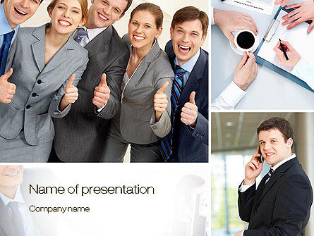 People: Team Development PowerPoint Template #10713