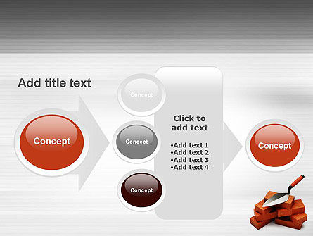 Bricks PowerPoint Template Slide 17