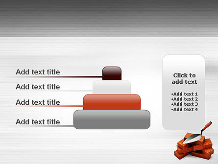 Bricks PowerPoint Template Slide 8