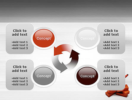 Bricks PowerPoint Template Slide 9
