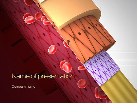 Artery PowerPoint Template, 10718, Medical — PoweredTemplate.com