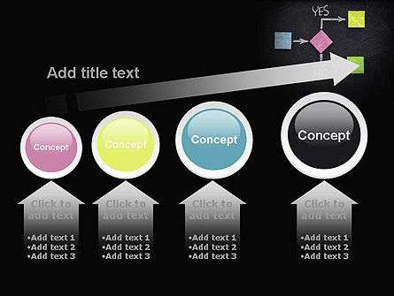Blank Flowchart PowerPoint Template Slide 13