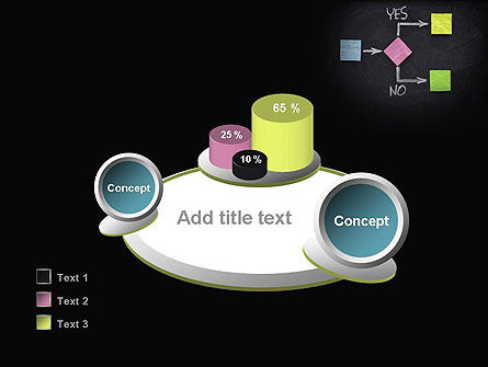 Blank Flowchart PowerPoint Template Slide 16