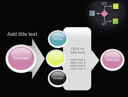 Blank Flowchart PowerPoint Template Slide 17