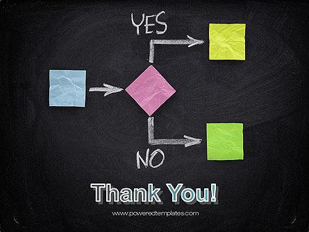 Blank Flowchart PowerPoint Template Slide 20