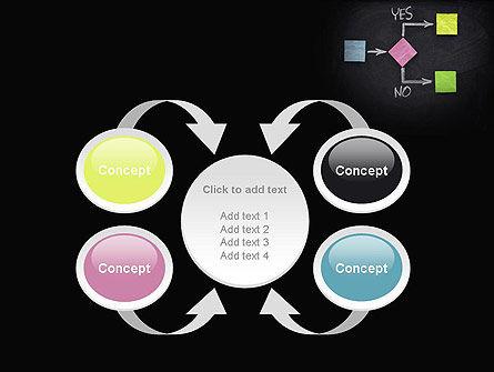 Blank Flowchart PowerPoint Template Slide 6