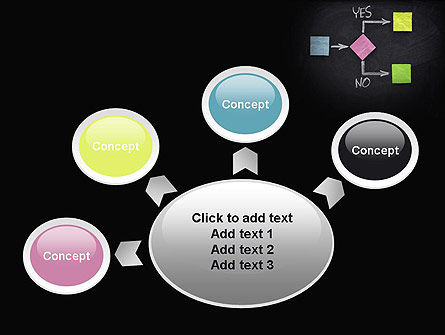 Blank Flowchart PowerPoint Template Slide 7