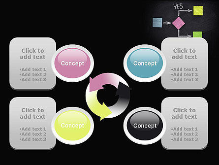 Blank Flowchart PowerPoint Template Slide 9