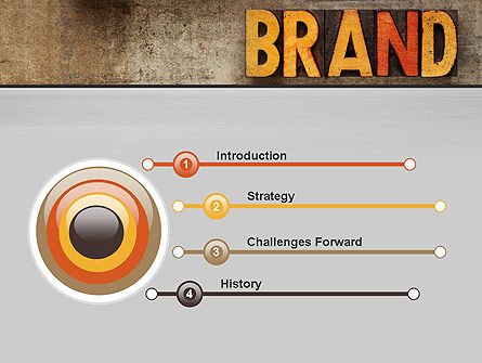Company Brand PowerPoint Template Slide 3