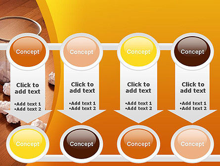 Shooting Paper Balls PowerPoint Template Slide 18