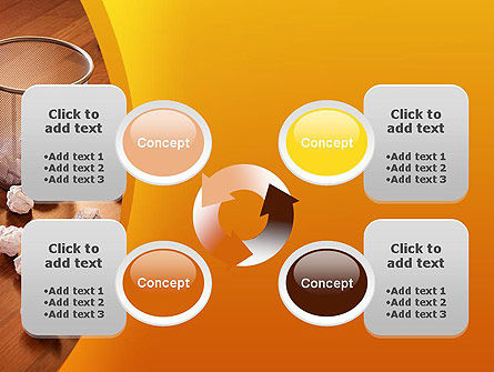 Shooting Paper Balls PowerPoint Template Slide 9