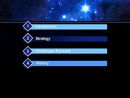 Constellation PowerPoint Template, Slide 3, 10725, Education & Training — PoweredTemplate.com