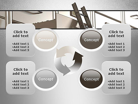 Corporate Ladder PowerPoint Template Slide 9