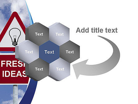 Fresh Ideas PowerPoint Template Slide 11