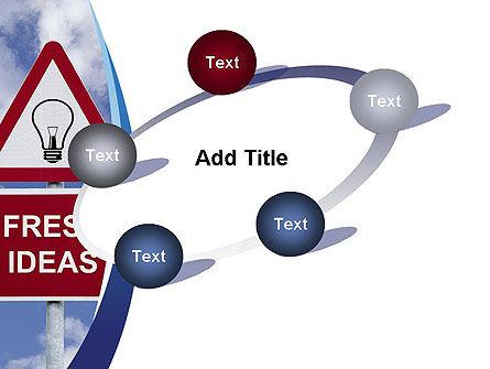 Fresh Ideas PowerPoint Template Slide 14