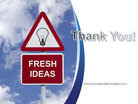 Fresh Ideas PowerPoint Template Slide 20