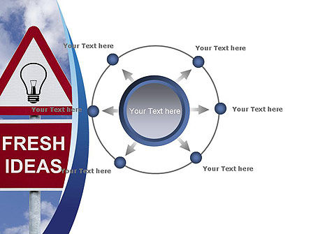 Fresh Ideas PowerPoint Template Slide 7