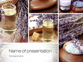 Careers/Industry: Lavender Spa PowerPoint Template #10732