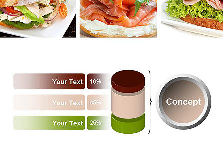 Sandwiches PowerPoint Template Slide 11