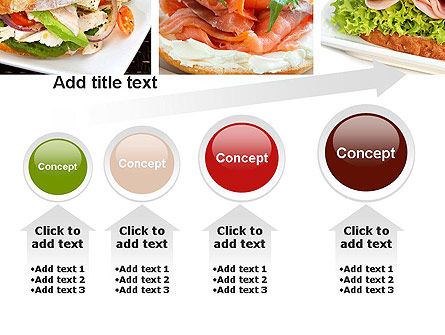 Sandwiches PowerPoint Template Slide 13