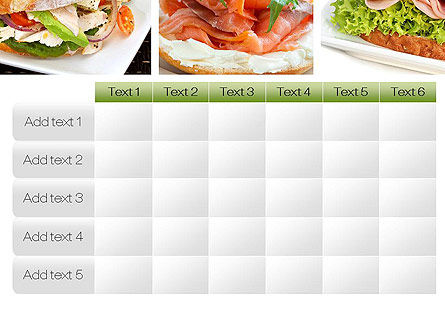Sandwiches PowerPoint Template Slide 15
