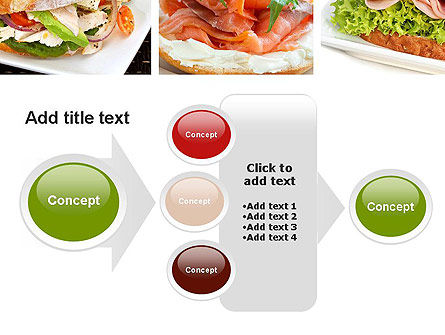 Sandwiches PowerPoint Template Slide 17