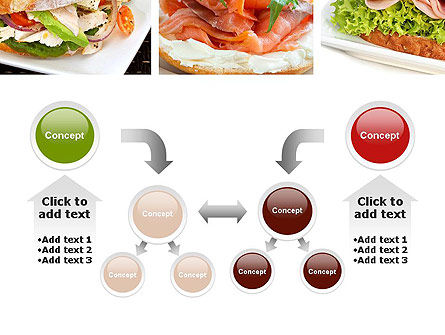 Sandwiches PowerPoint Template Slide 19