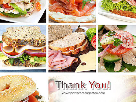Sandwiches PowerPoint Template Slide 20