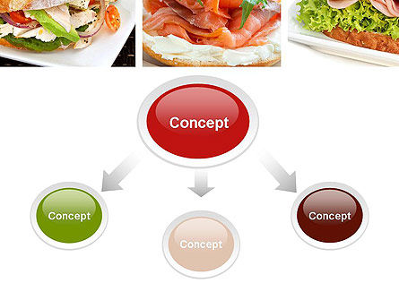 Sandwiches PowerPoint Template, Slide 4, 10734, Food & Beverage — PoweredTemplate.com