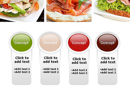 Sandwiches PowerPoint Template Slide 5