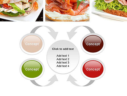 Sandwiches PowerPoint Template Slide 6