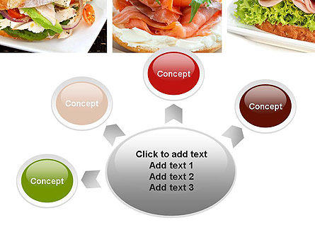 Sandwiches PowerPoint Template Slide 7