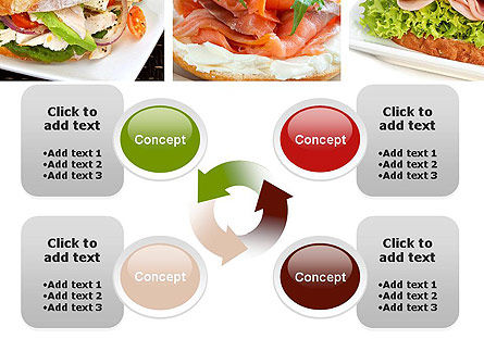Sandwiches PowerPoint Template Slide 9