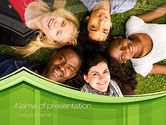 People: College Students PowerPoint Template #10736