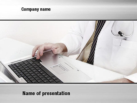 Medical Billing PowerPoint Template, 10737, Financial/Accounting — PoweredTemplate.com