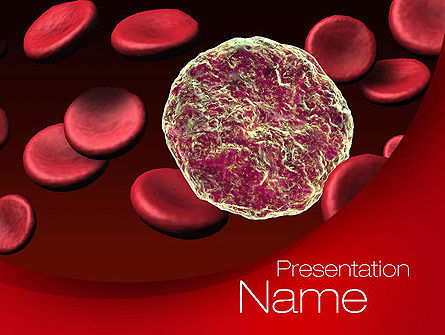 Medical: Virus Cells PowerPoint Template #10738