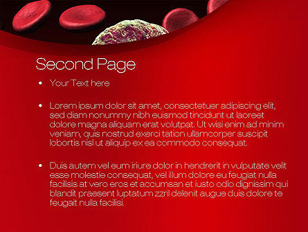 Virus Cells PowerPoint Template, Slide 2, 10738, Medical — PoweredTemplate.com