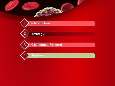 Virus Cells PowerPoint Template, Slide 3, 10738, Medical — PoweredTemplate.com